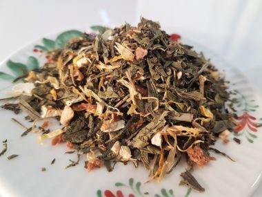 Grüner Tee Ingwer-Zitrone