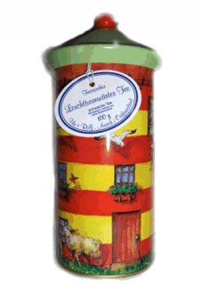 Leuchtturmdose gefüllt 100g (Leuchtturmwärter Tee)