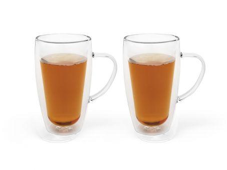 2 x Bredemeijer Gläser doppelwandig für Tee/Kaffee á 295ml