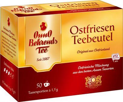 Onno Behrends Tee Ostfriesen Teebeutel 50 x 1.5g