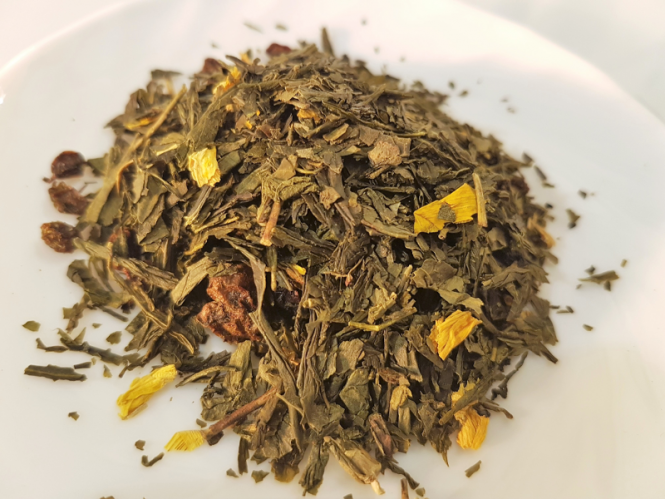 """Grüner Tee """"Sanddorn"""""""