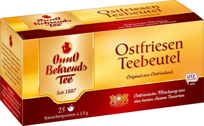 Onno Behrends Tee Ostfriesen Teebeutel 25 x 2.8g