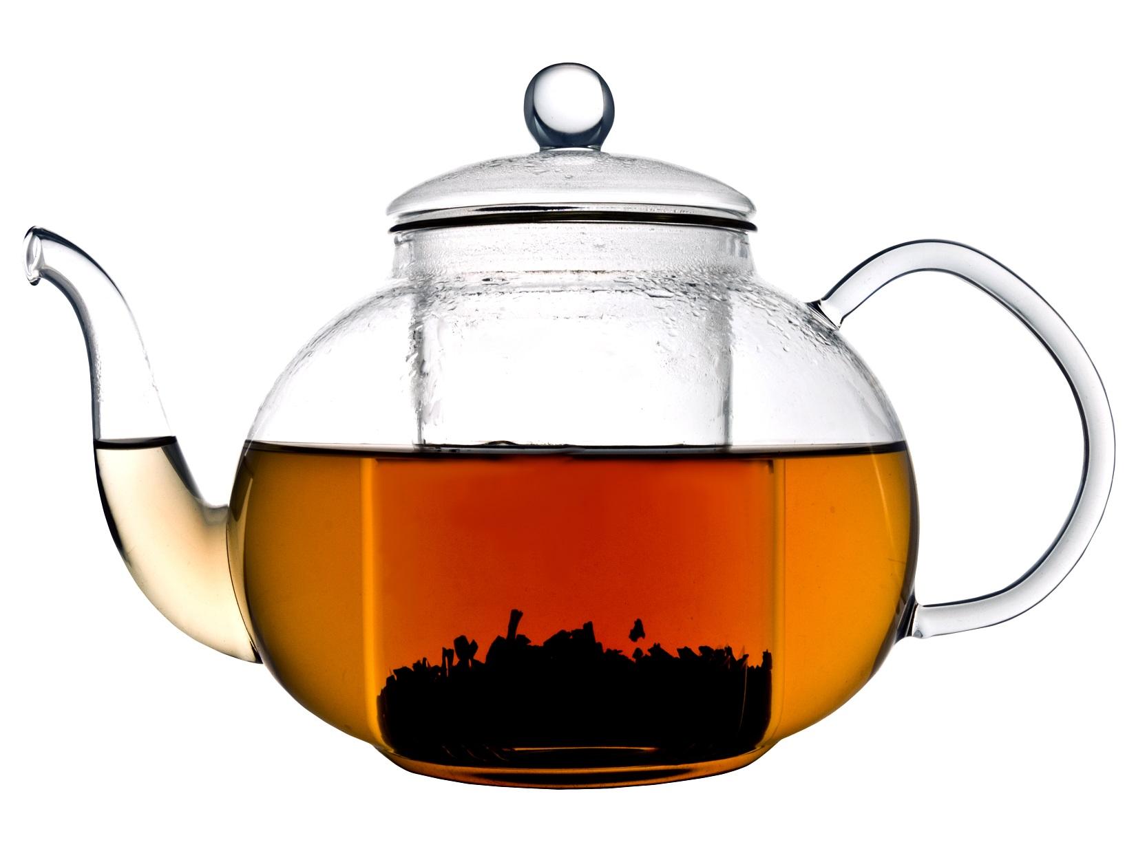 Teekanne Glas Verona Bredemeijer 1,0L.