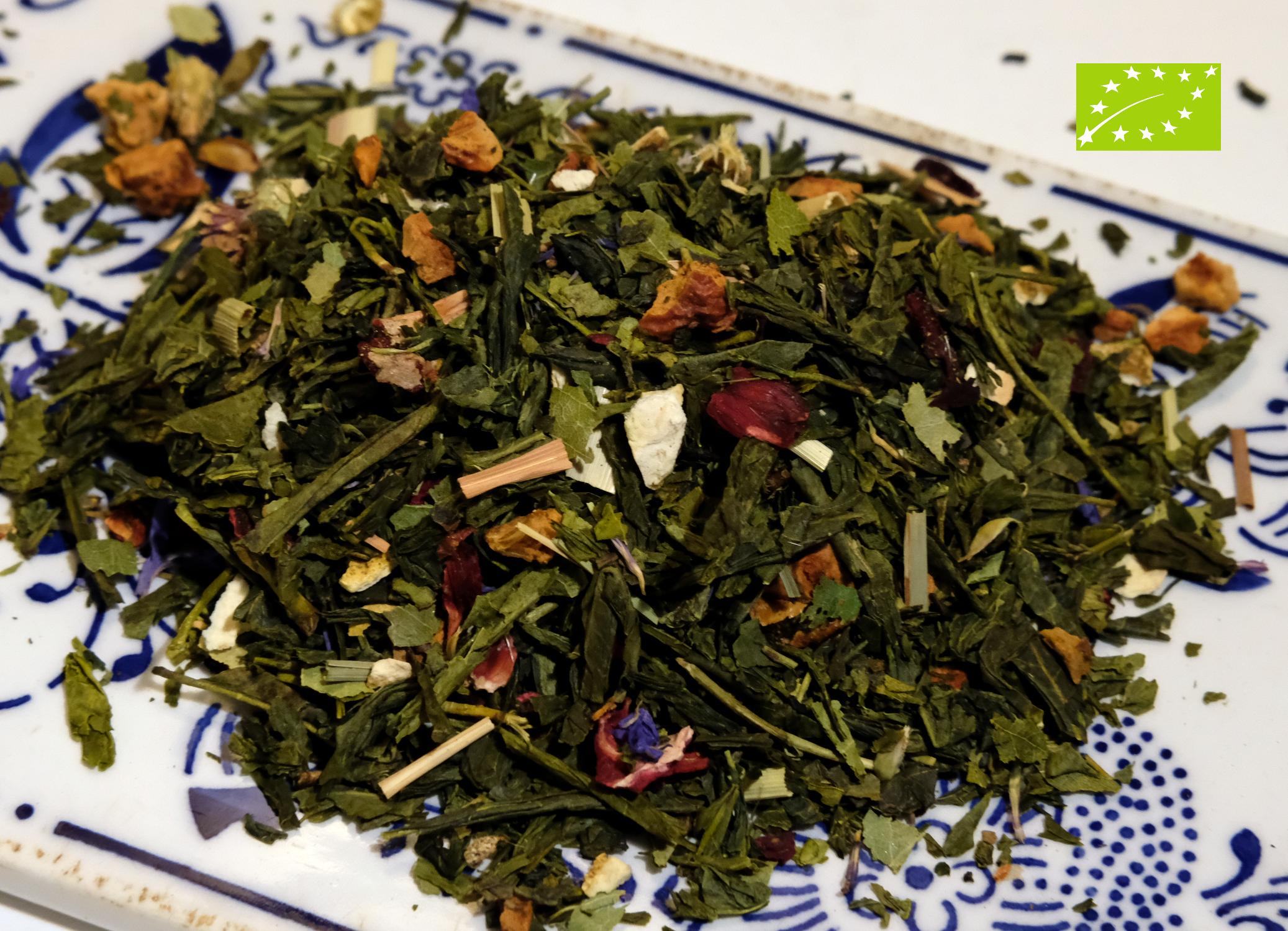 Grüner Bio - Tee