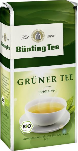 Bünting BIO Grüner Tee 250g