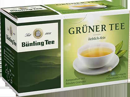 Bünting BIO Grüner Tee 20x1,75g