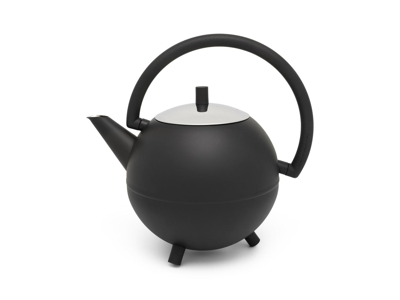 Teekanne Duet Saturn  schw.matt Bredemeijer 1,2L.