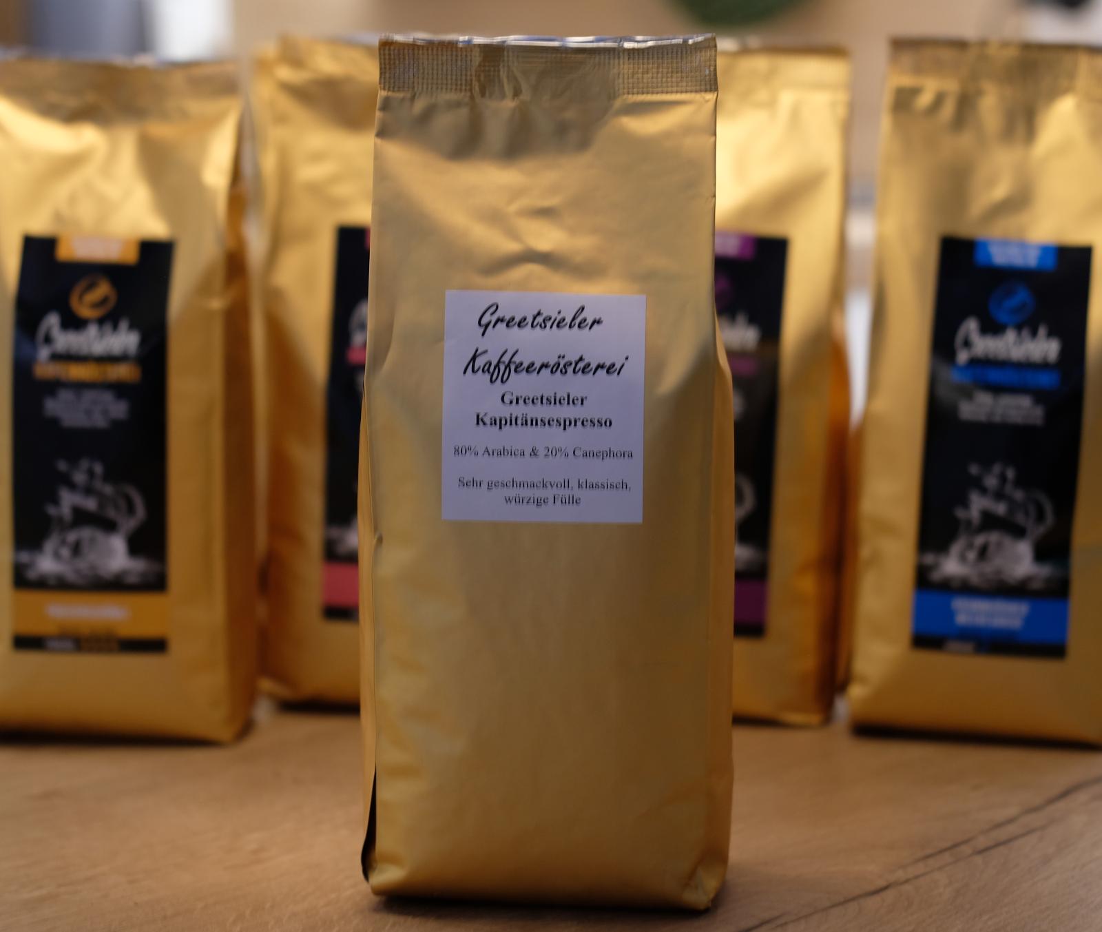 Greetsieler Kapitänskaffee (Espresso) - 500g