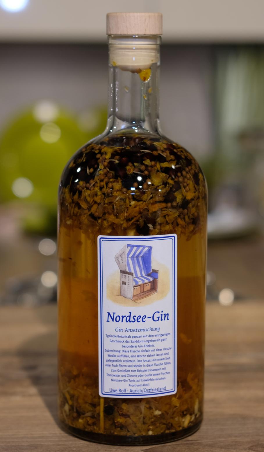 Nordsee-Gin Ansatzmischung
