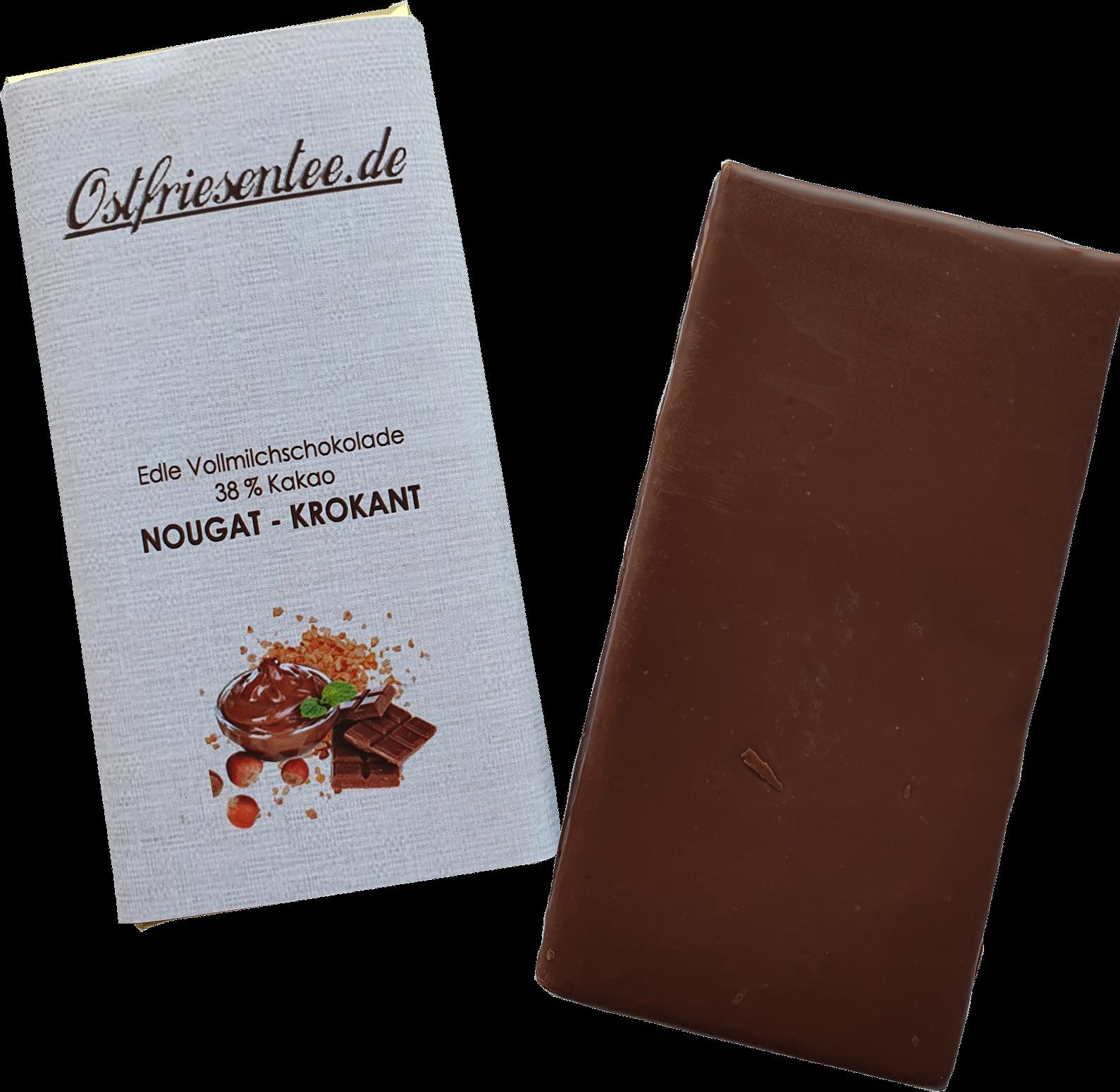 Nougat-Krokant Schokolade