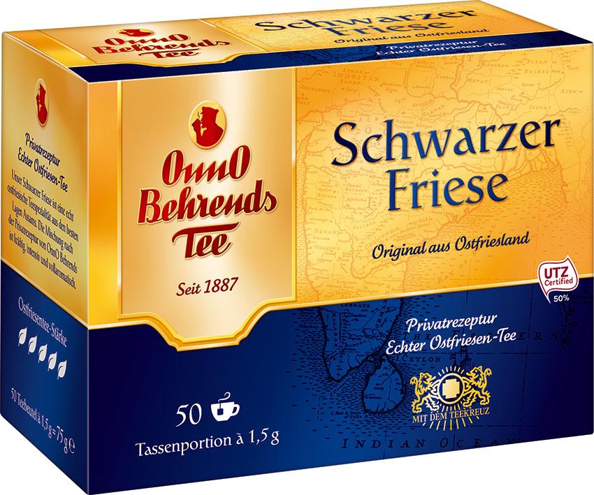Onno Behrends Tee Schwarzer Friese 50 x 1,5g