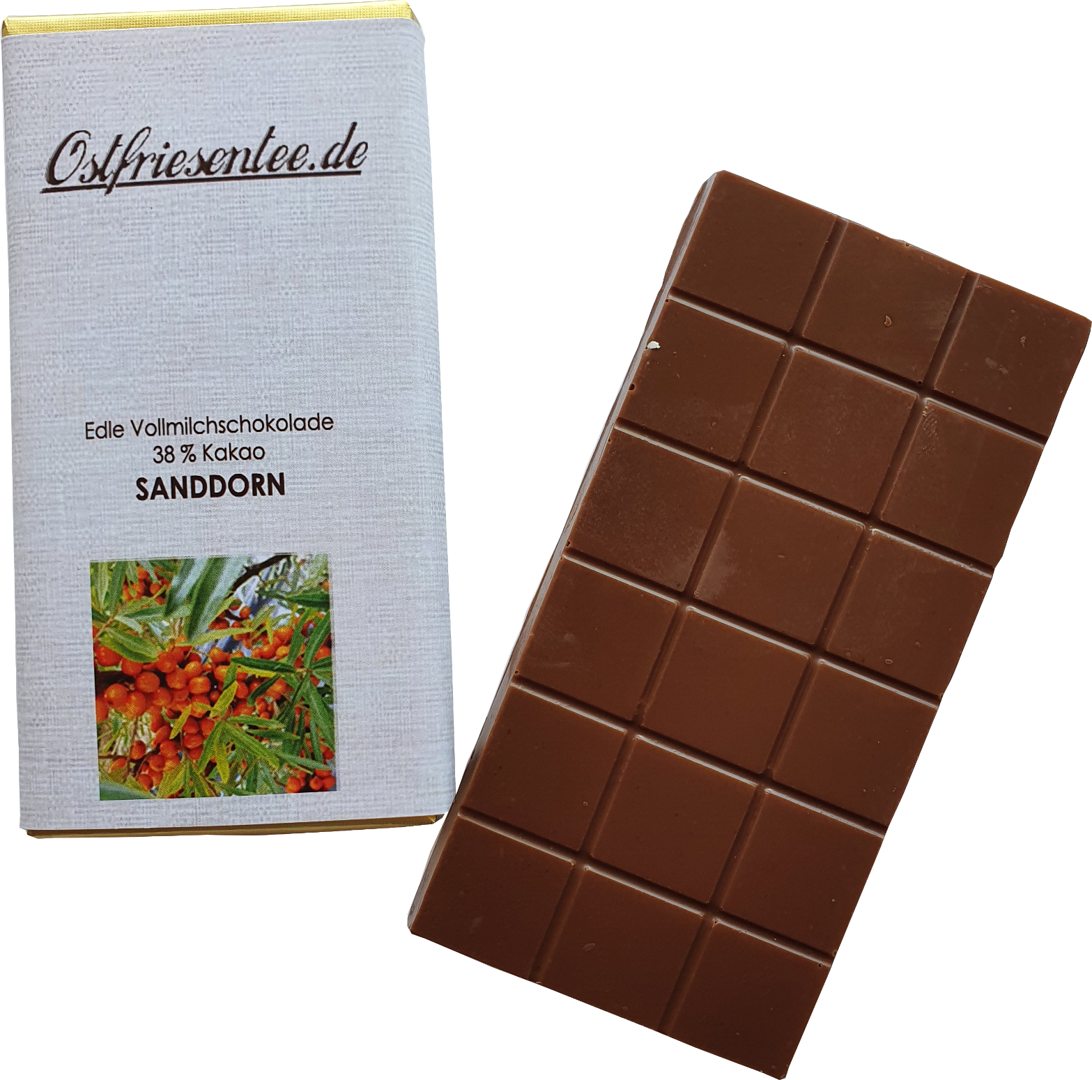 Sanddorn Schokolade