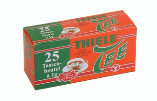 Thiele Tee Tassenbeutel 25x1g