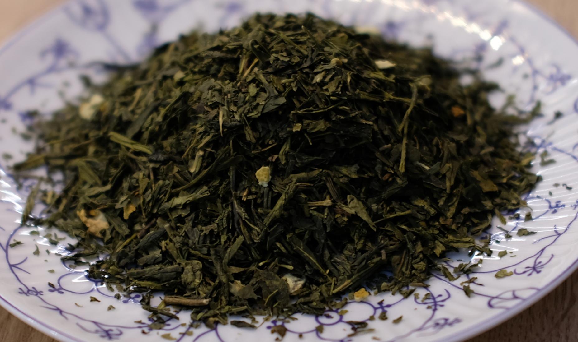 Grüner Tee Zitrone & Pfefferminz