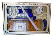 Geschenkset 2 Tee/Kandis/Butterwaffeln